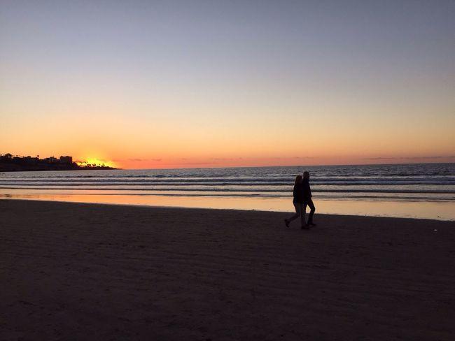 A Walk On The Beach Sunset San Diego Beach