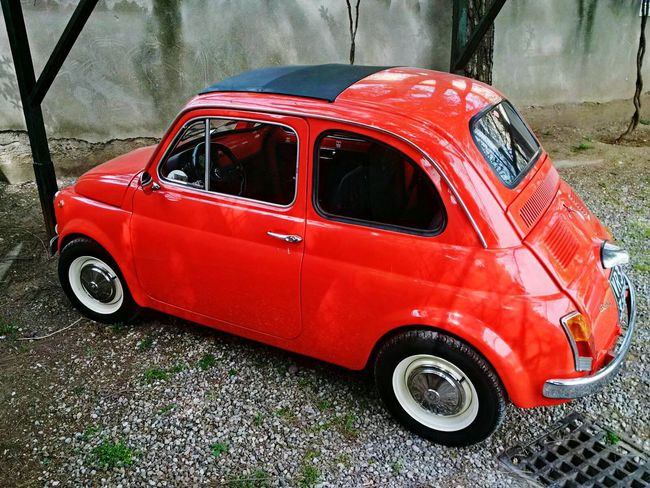Fiat500 Old Car Car Collection Italy