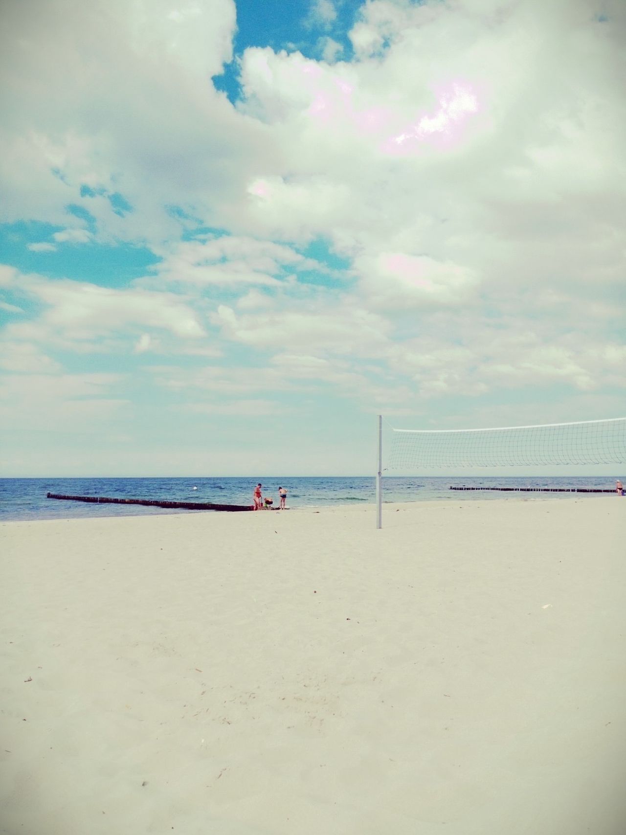 Beautiful stock photos of strand, Beach, Beach Volleyball, Beauty In Nature, Day