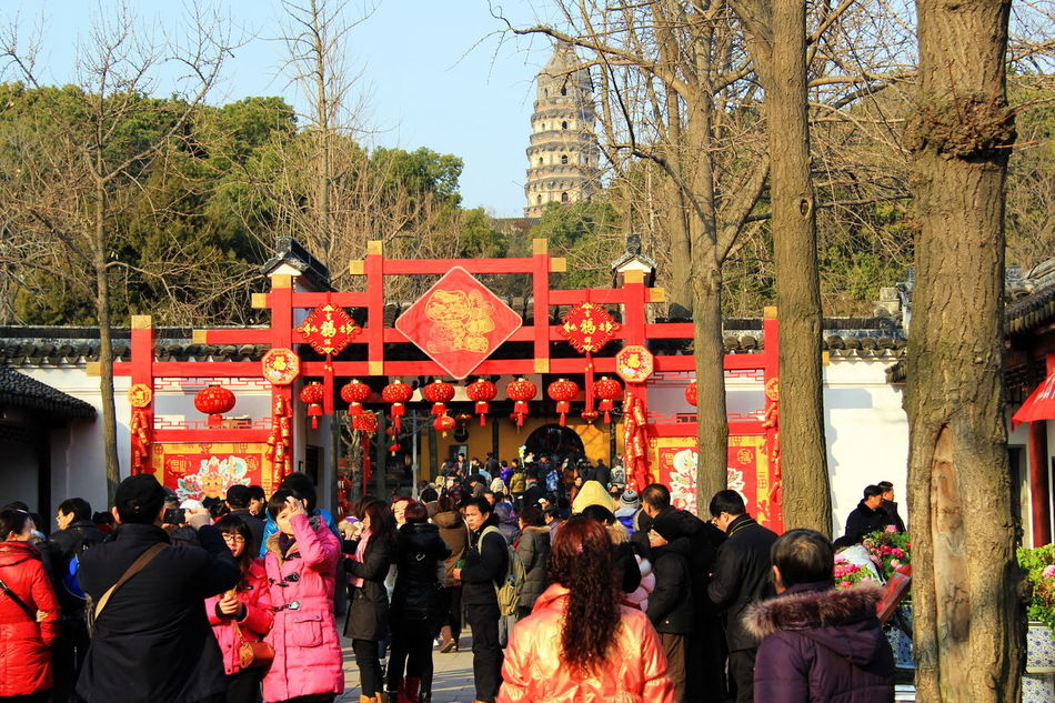 3RD DAY OF CHINESE NEW YEAR IN SUZHOU, CHINA Chinese New Year Crowds Enjoyment Family Gathering FESTIVE LIFESTYLES Festive Season Lifestyle Shopping Temples Traditional Culture WINTRY FESTIVE Urban Spring Fever Heritagebuilding Colors Scenery Shots Canonphotography Photography In Motion Eyeemphotography Temples