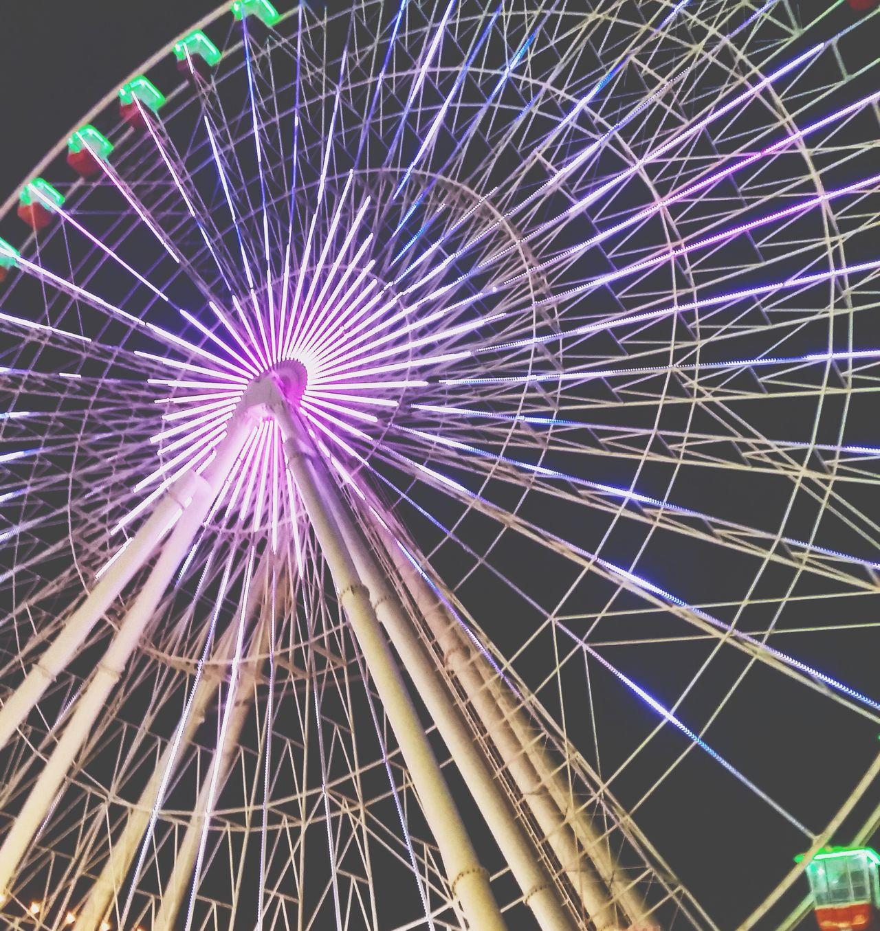 Ferris Wheel Amusement Park Night Outdoors Photography Street Photography Dubai DXB UAE Global Village
