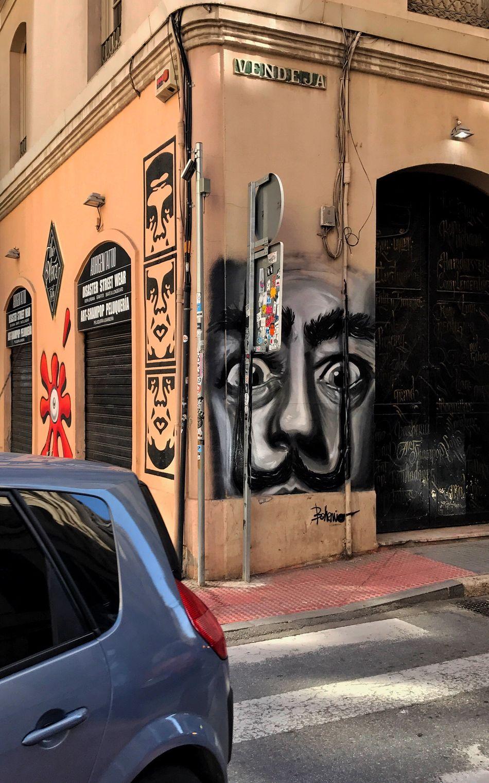 Mi Dalí junto a OBEY Graffiti Dalí Soho Malaga From My Point Of View MyArt Art Streetart Streetphotography Street Photography EyeEm Gallery Eye4photography  Graffitiporn Graffiti Art Graffiti Wall Graffiti & Streetart Graffitiart OBEY Obeygiant