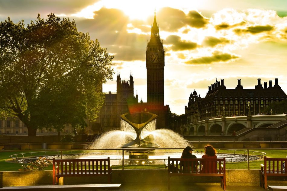 A golden city Built Structure Architecture Tourism Building Exterior Travel Destinations Outdoors Clock Tower Day History City Life Thames United Kingdom City Of London Big Ben Westminster Photography Photoshoot Traveling Nature Nikon Gold London Sunset