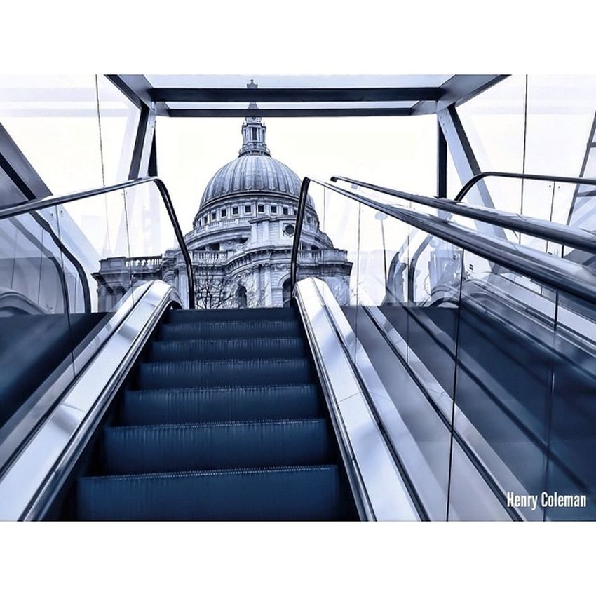 """""""Two in One!"""" St Paul's Cathedral taken from inside """"One New Change"""", high end shopping complex! Lovelondon London London_only Londonpop London_only_members Igerslondon Ig_london Ig_england Ig_europe Guesstination Streetshot_london Internationalgrammers UNSUNG _masters Lom_hfg"""