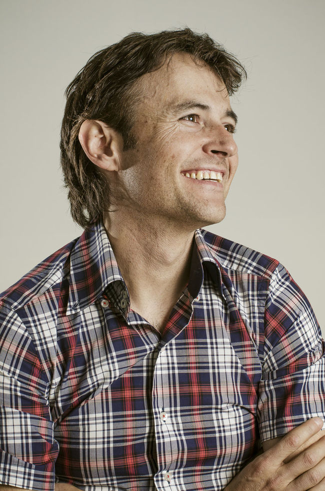 40 Years Old Casual Clothing Caucasian Confidence  Farmer Handsome Man Happy Guy Happy Man Happy People Looking Forward One Male Person Plaid Shirt  Portrait Portrait Of A Man  Shirt Smile