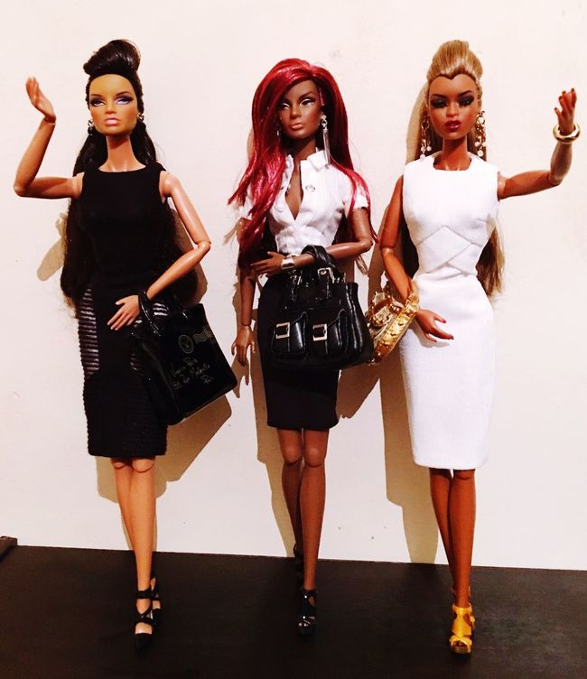 Move your race from the Barbie one arrives👊🏾👊🏾👊🏾👊🏾 Black Queen power 👑👑👑👑👑