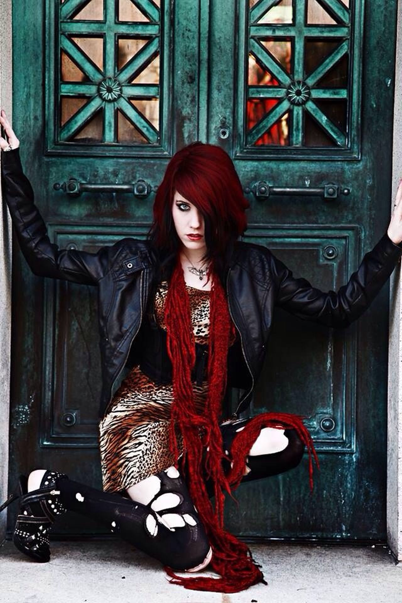 Beautiful stock photos of gothic, Beautiful Woman, Berlin, Casual Clothing, Caucasian Ethnicity
