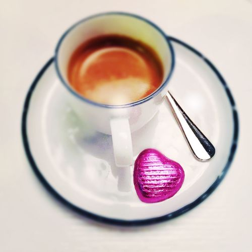Coffee Coffee Time Coffee ☕ Heart Coffee And Sweets Chololate Coffee With Style Love Sweat Moment Quick Kick