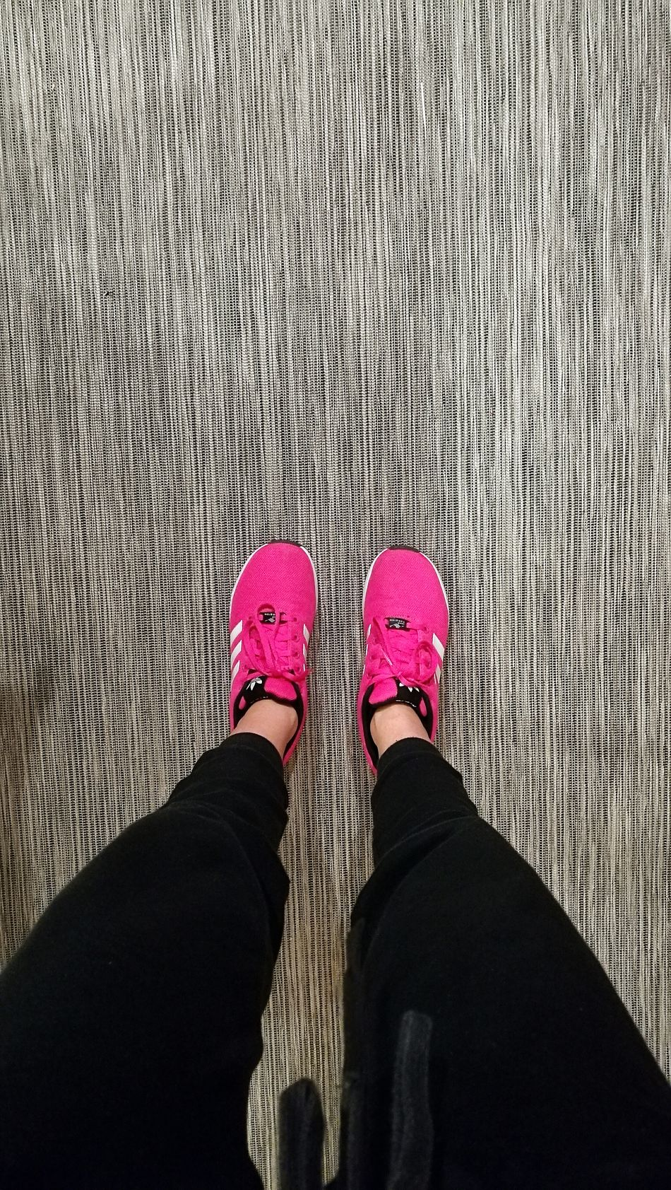 Shoe Low Section One Person Personal Perspective Standing Pants People Outdoors Ready To Go Gym Time Night Sessions Sport Squats Adidas Adidasoriginals Adidas Originals Pink