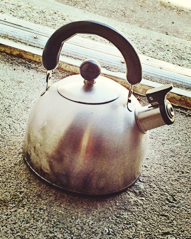 Kettle For Camping - Steel Kettle Shadow Close-up Surface Level Vacations Day Outdoors Gravel No People Tourism Footpath Kettle Object Camping Camping Trip! Cooking Outdoor Cooking Still Life Photo Vintage Outdoorlife Campinglife Objects