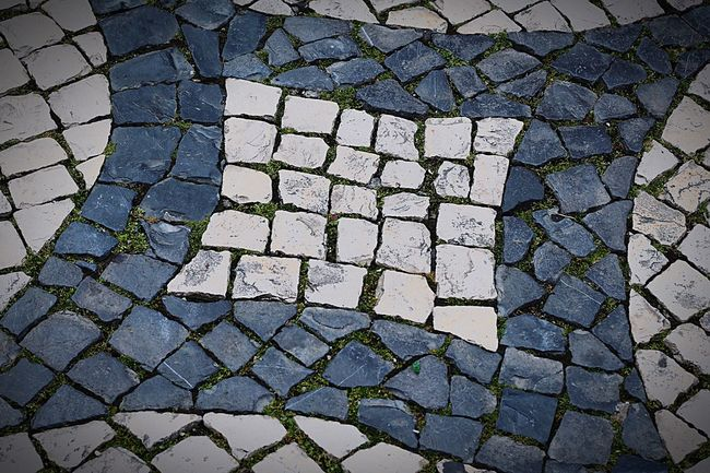 Sidewalk Full Frame Stone Tile Textured  EyeEm Best Shots IPhoneography The Best Of Eyeem Streetphotography