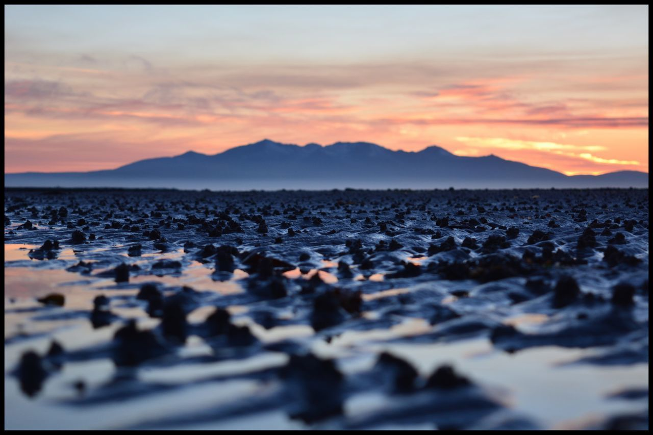 It's not Mars honest😉 Isle Of Arran  Sunset Sky Nature Beauty In Nature Scenics No People Tranquility Mountain Tranquil Scene Outdoors Cloud - Sky Pebble Water Pebble Beach Day Sand Patterns Eye4photography  EyeEm Gallery Eyeemphotography Mountains Tranquility Arran  Ayrshire, Scotland EyeEm Nature Lover The Great Outdoors - 2017 EyeEm Awards