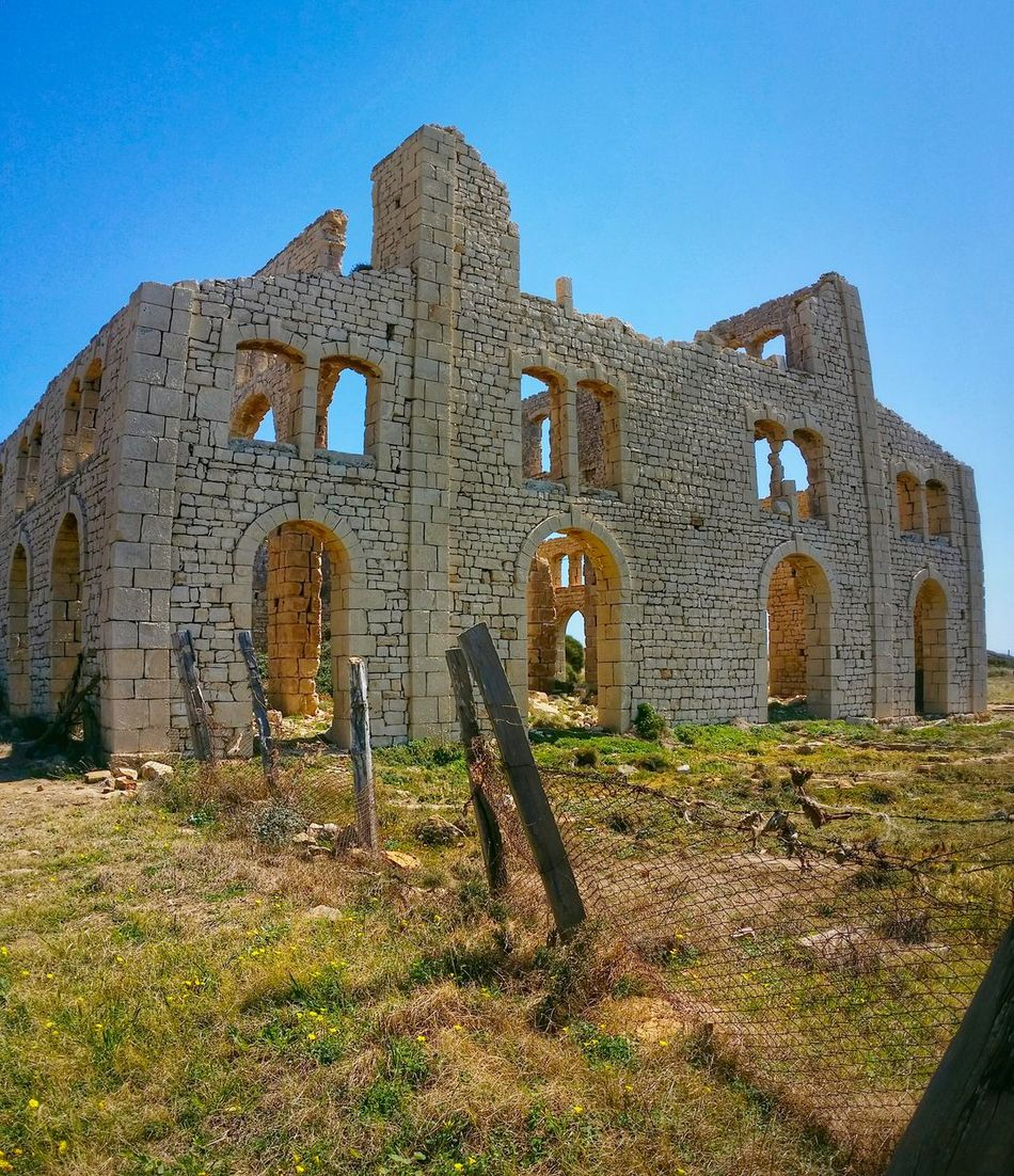 Sampieri Ragusa Sicily Italy Travel Photography Travel Voyage Traveling Mobile Photography Fine Art Panoramic Views Architecture Early XX Century's Industrial Facilities Furnaces Ruins Mobile Editing