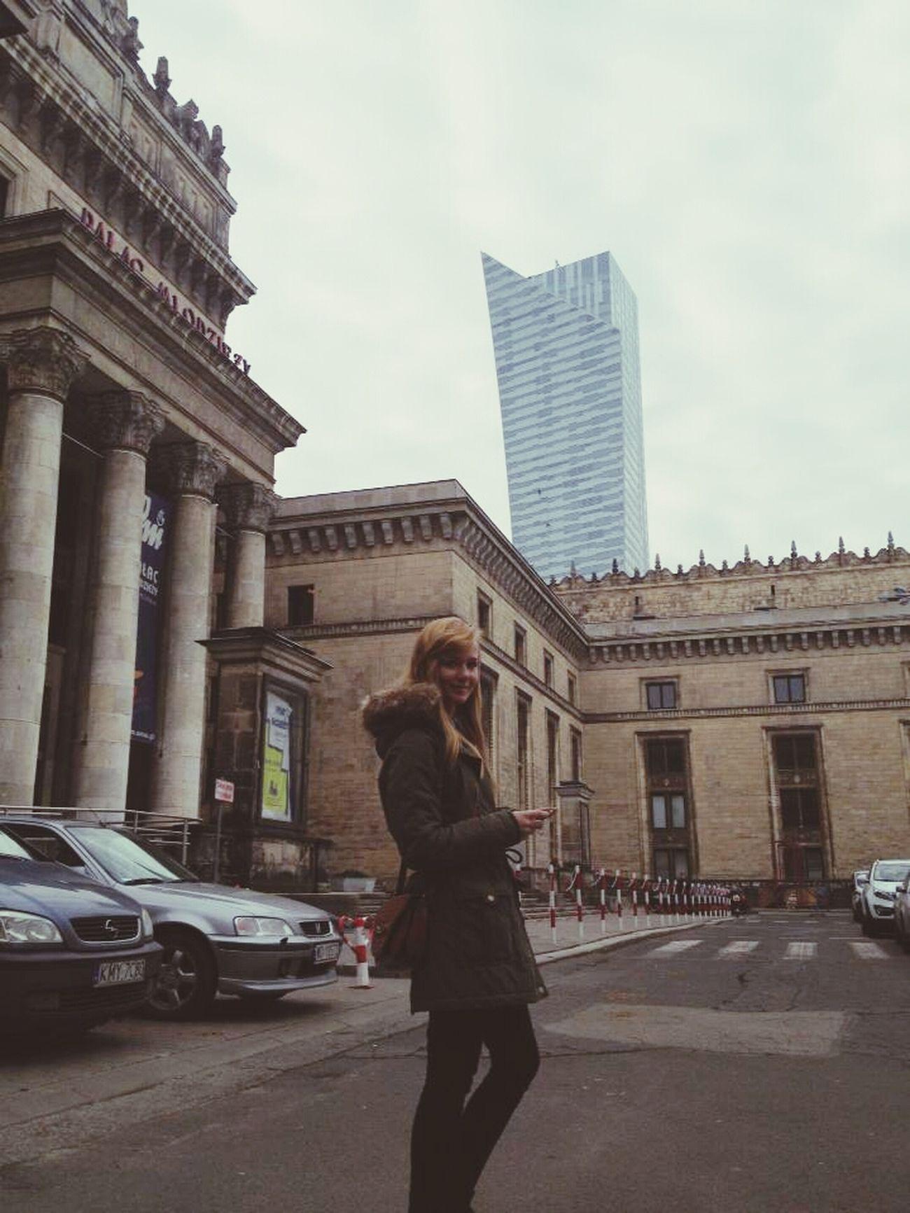 Warsaw Capital Palackultury Girl