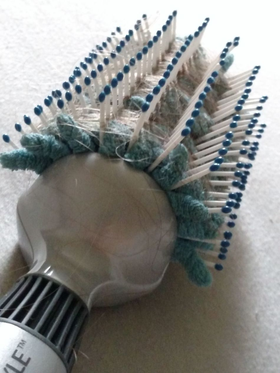 Letting Your Hair Down Hairbrush Loose Hair Hair Accessories