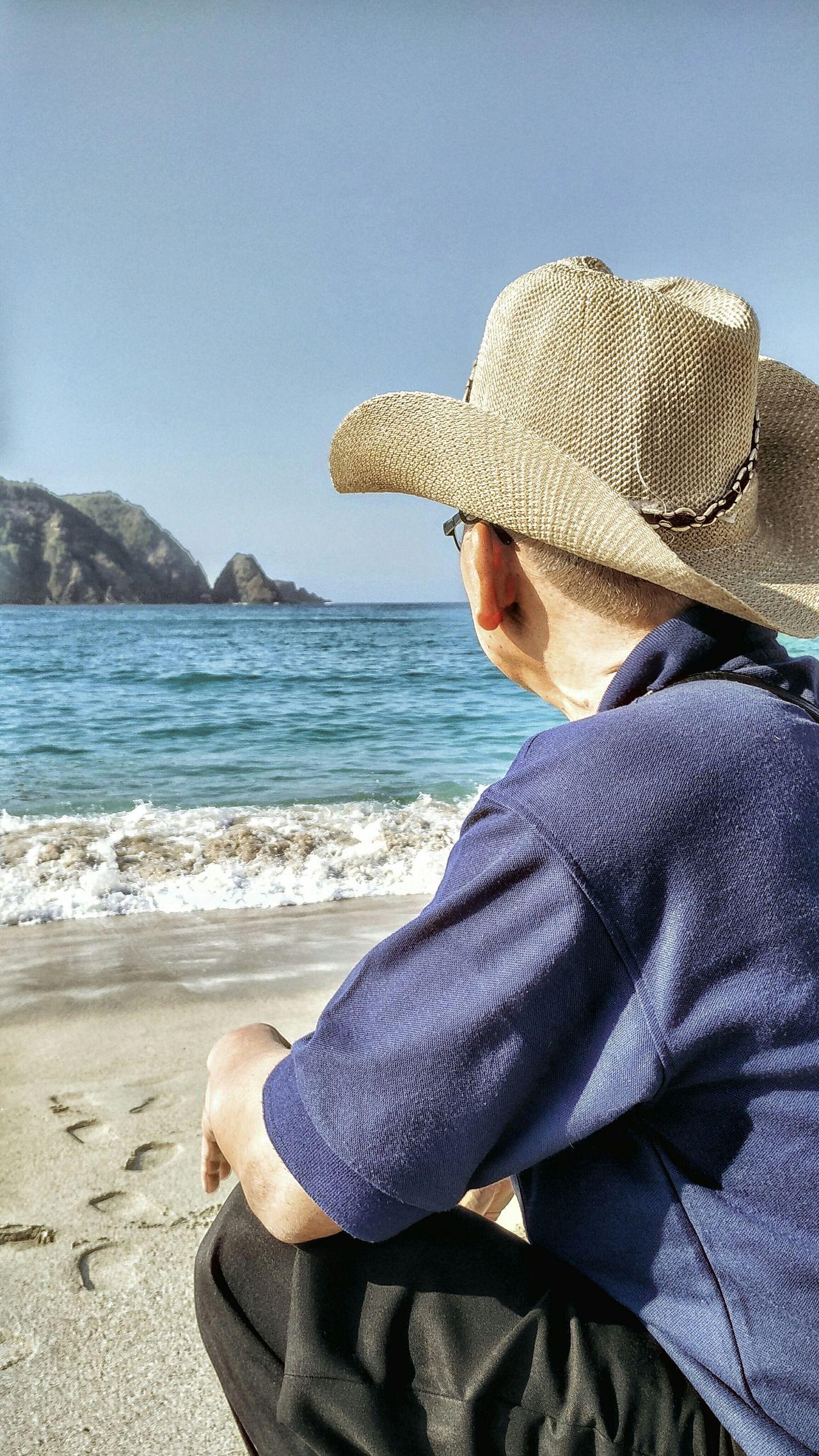 Beach cowboy Lombok Beach Hello World Enjoying Life Relaxing Water Landscape Nature Travel Travel Photography