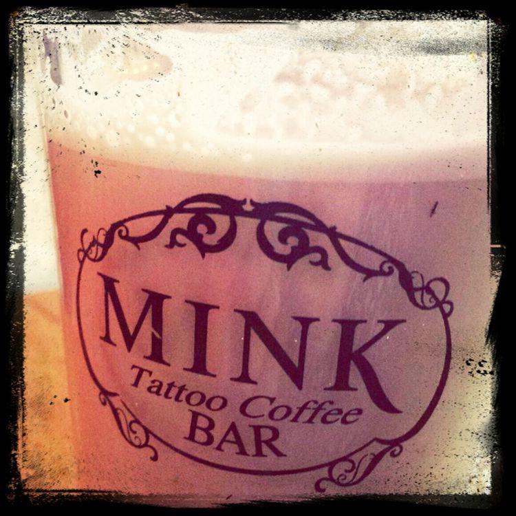 Coffee Mink Tattoo Coffee Break!