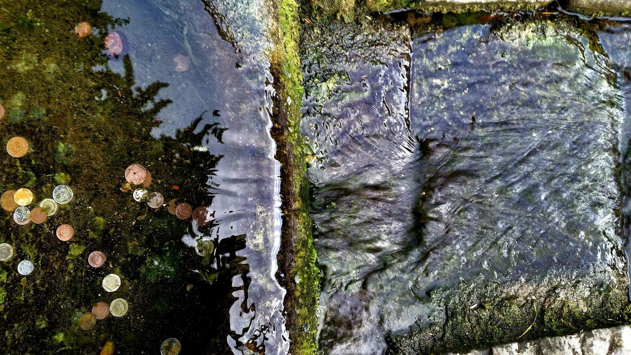 Old But Awesome Well  Spring Water Stone Village View Close-up