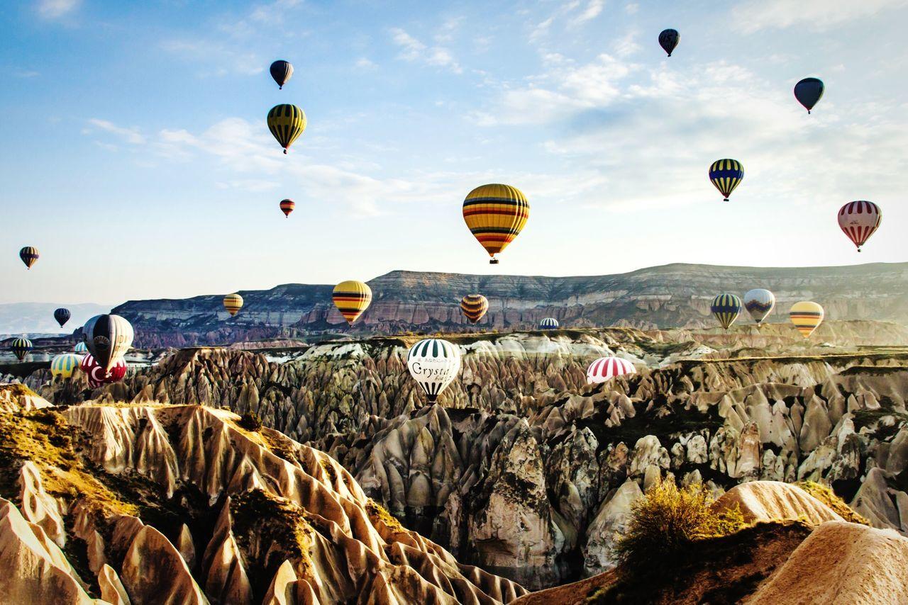 Göreme (Cappadocia/Turkey) Open Edit Hot Air Balloons Cappadocia Turkey EyeEm Best Shots Travel Photography