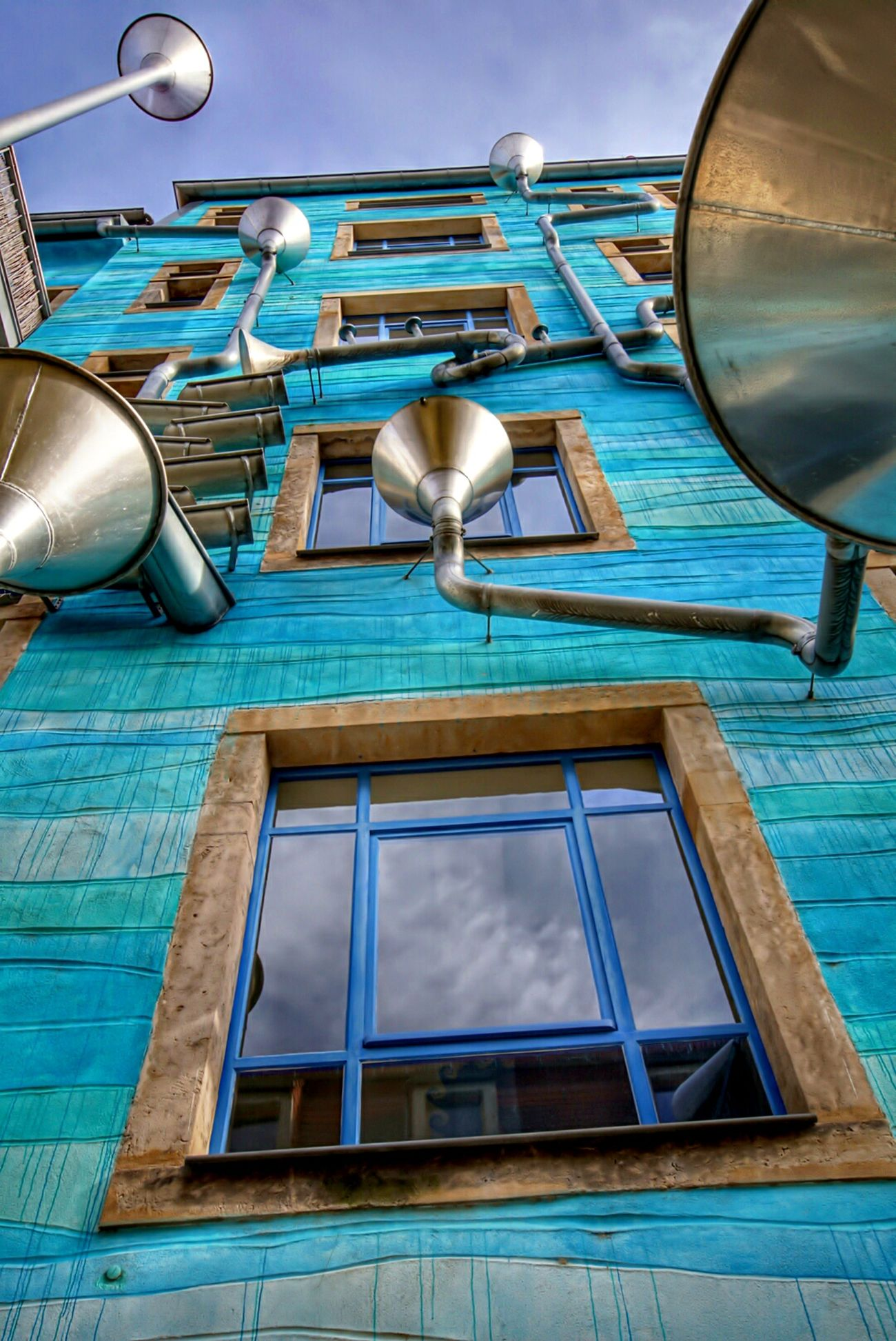 Dresden Dresden / Germany Dresden Neustadt Kunsthofpassage Blue No People Sky Architecture Outdoors Close-up Hdrphotography Hdr_Collection HDR Collection HDR Hdr_pics Architecture GERMANY🇩🇪DEUTSCHERLAND@ Colors Architecture_collection
