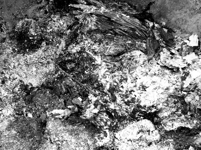 Backgrounds Full Frame Abstract Textured  No People Day Close-up Outdoors EyeEmNewHere Black And White Photography Ashes Fire Fire And Flames Ashes To Ashes Ashes.