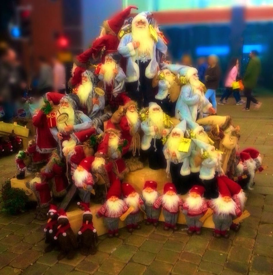 MerryChristmas Santa Pyramid Christmas Is Coming Happy Christmas