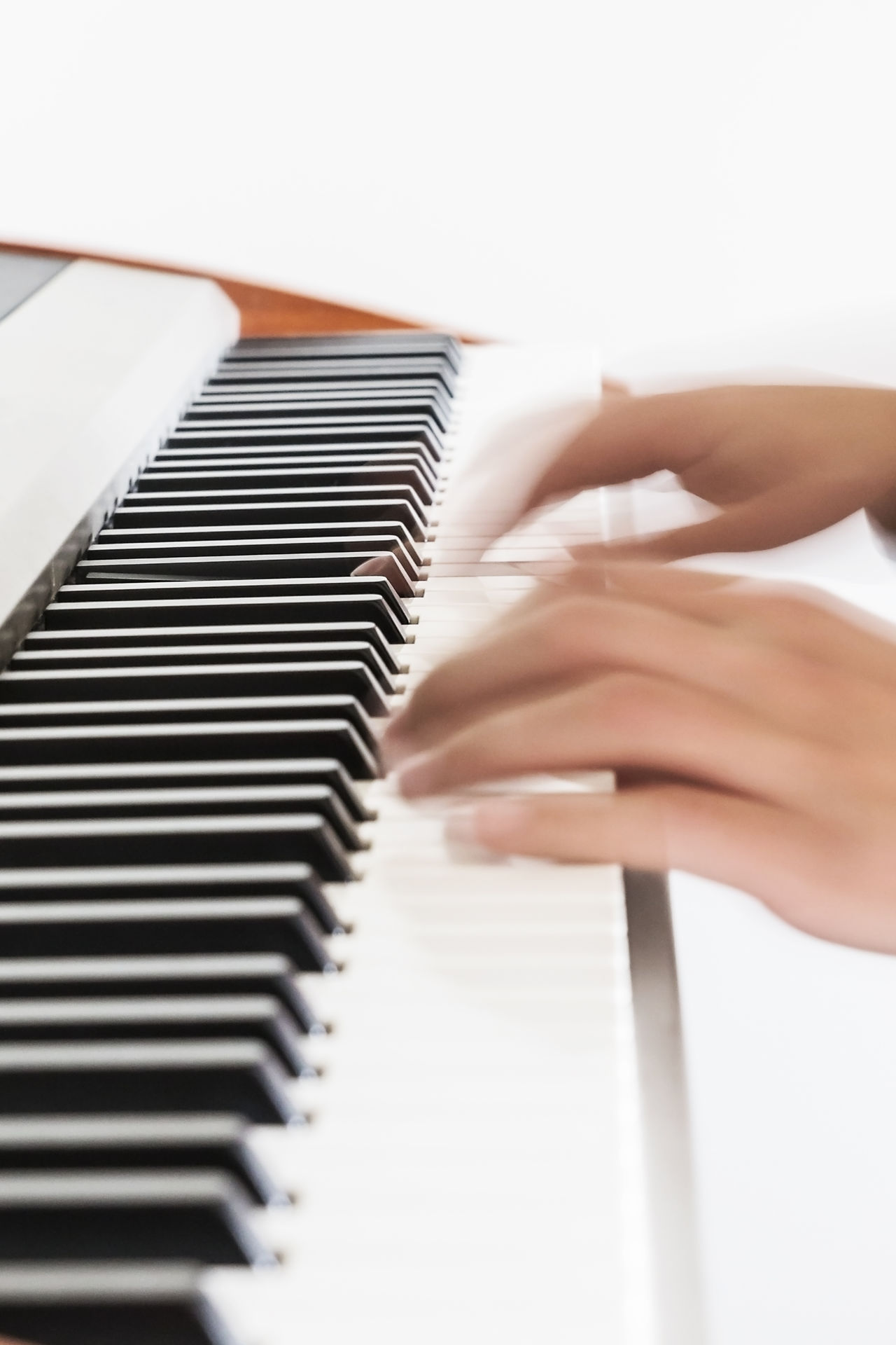 A person playing piano - Arts Culture And Entertainment Classical Music Close-up Exceptional Photographs Eye4photography  EyeEm Gallery Hello World Human Body Part Indoors  Keyboard Music Musical Instrument Musician One Person Person Piano Piano Key Piano Keys Playing Simplicity The Week Of Eyeem Vertical White Background TakeoverMusic Piano Moments