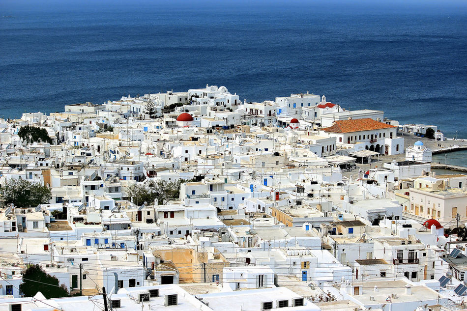 Mykonos Town Aegean Aegean Islands Aegean Sea Blue Greece Greek Islands Mediterranean  Mediterranean Sea Mykonos Mykonos Island Mykonos,Greece Mykonostown Sea Water White First Eyeem Photo