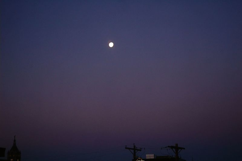 Goodnight Good Night Night Time Sleepy Moon Outside My Window Outside My Window Night Fall Moonlight Moonrise Small Moon