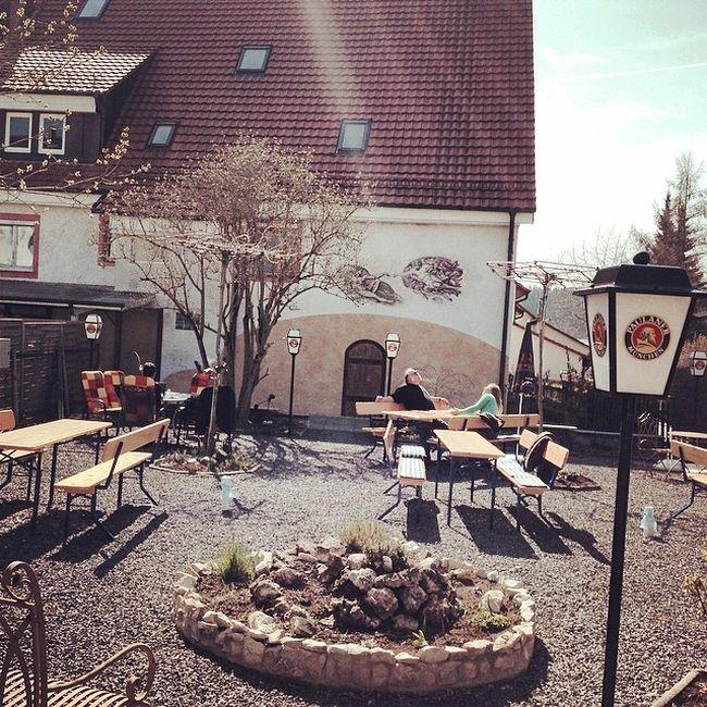 Biergarten Biergarten Beergarden  Paulaner  Immendingen Brennerhof