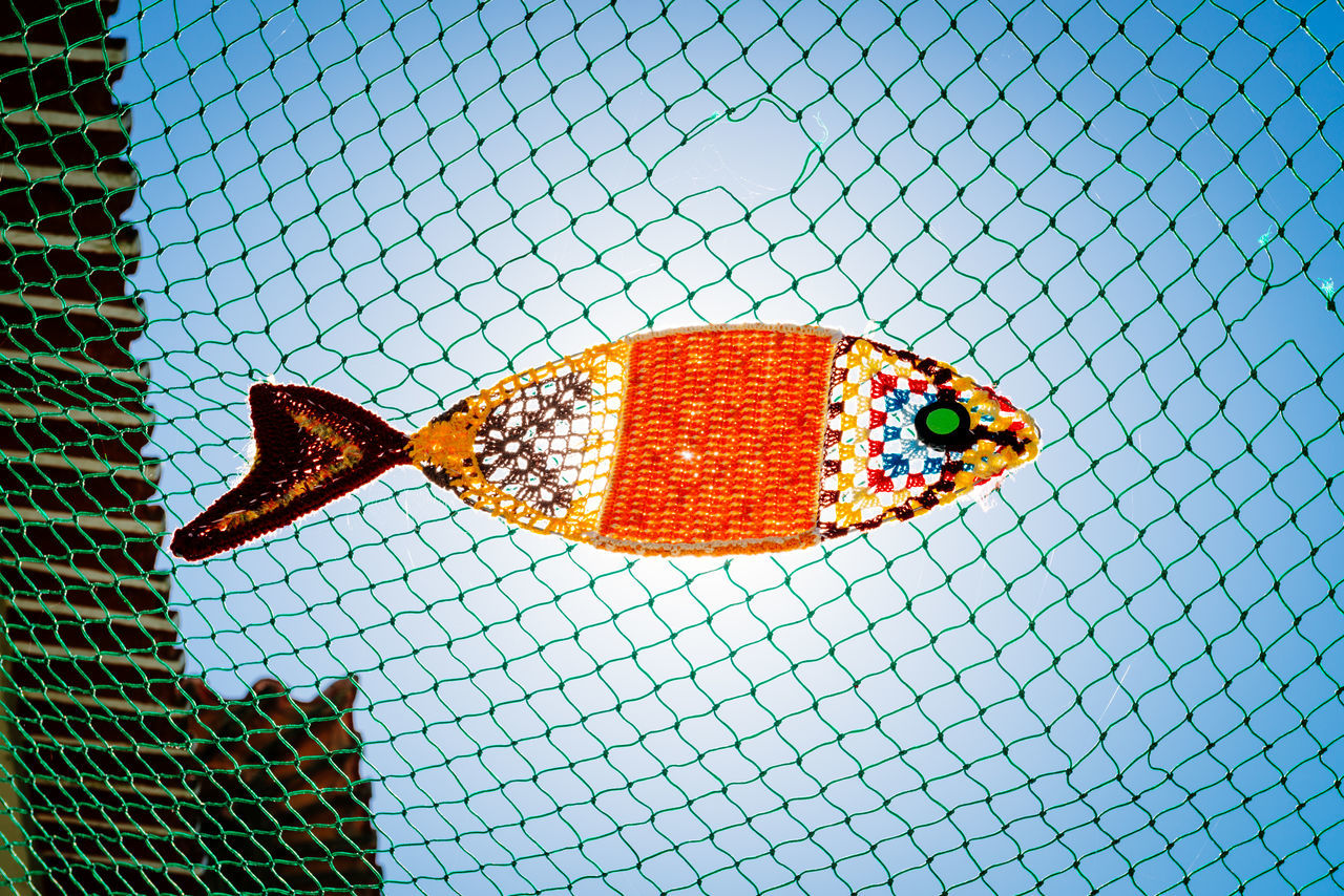 Aveiro Blue Colour Colourful Culture Europe Fish Holiday Knitting Net Portugal Sky Summer Travel
