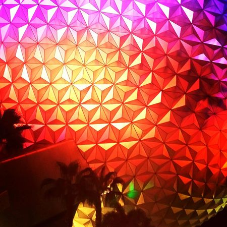 EPCOT at sunset! DisneyWorld Epcot Disney Dreams