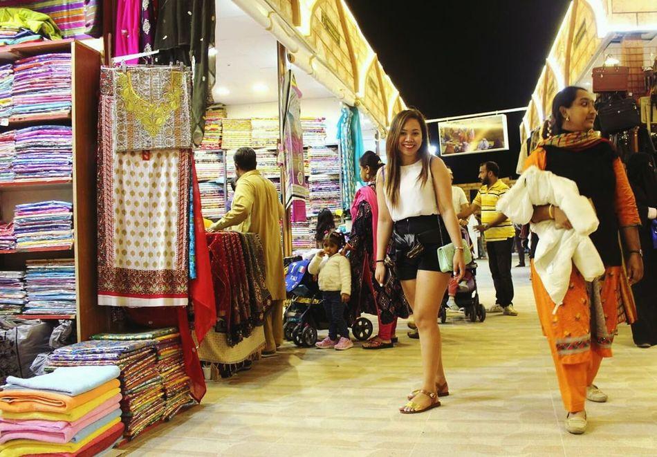 People Dubai❤ Globalvillage2016 Textiles EyeEm Gallery Retail  Store Fashion Choice Variation