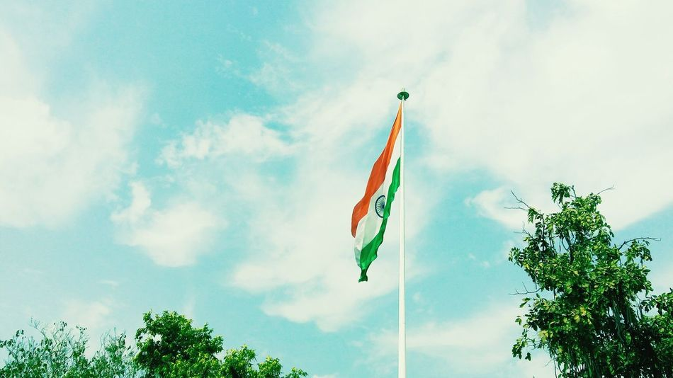 India's Second Largest And Tallest Tricolour First Eyeem Photo