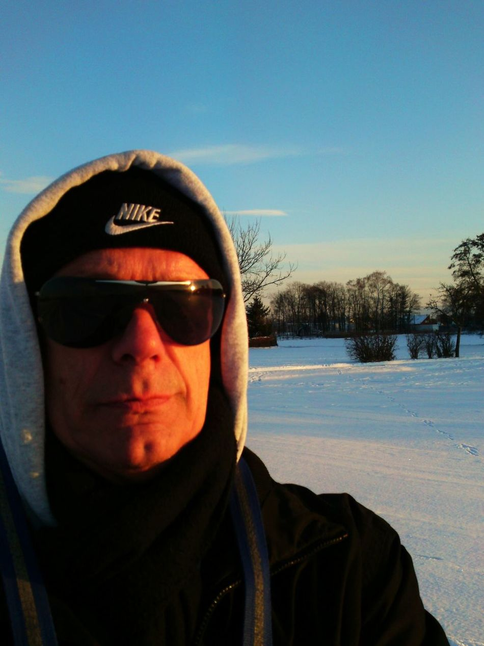 That's Me Hanging Out Enjoying Life Winter-time In Germany