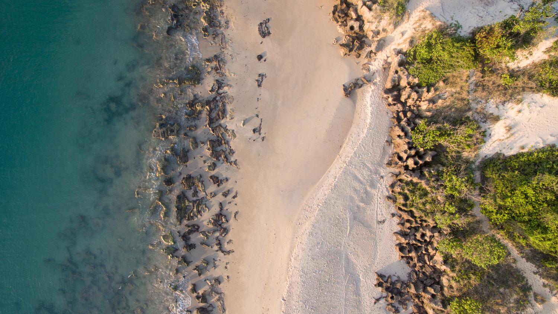 DJI Phantom 3 Professional Elysia Perspectives On Nature Beach Nature No People Ranking Sand Sea