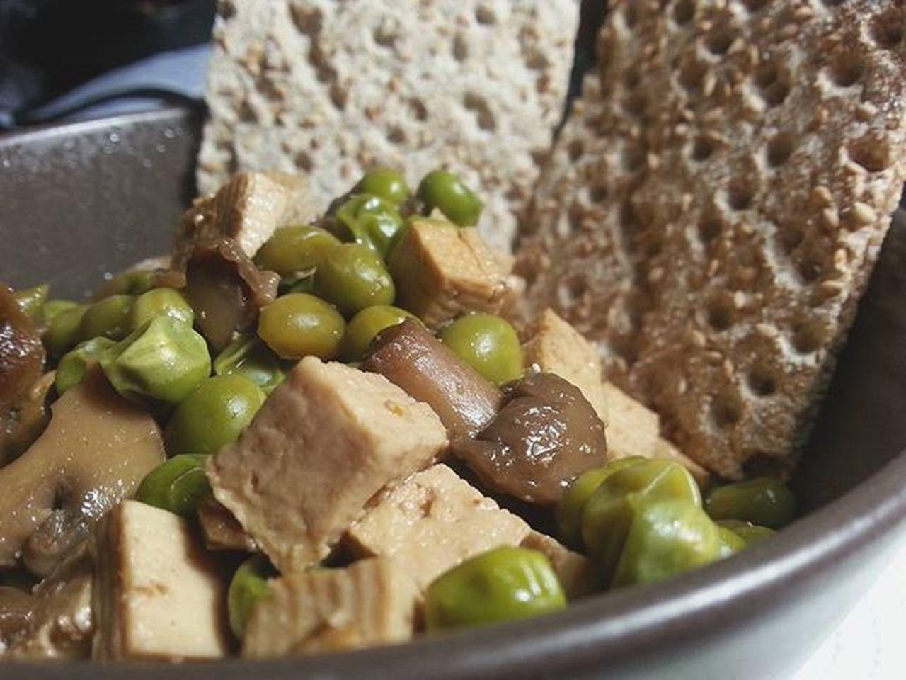 Cena! :3 Fame Hofame Cena Dinner Cibo Cibosano  Healthy Diet Work Vegan Fame Tofu Vegano S3camera Soymix