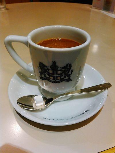 イノダコーヒにて喫茶。ド定番・アラビアの真珠。 京都 Kyoto 四条東洞院 イノダコーヒ イノダコーヒ四条店 Inoda Coffee 喫茶店 コーヒーショップ Coffee Shop Coffee Time コーヒー Coffee Arabian Pearl