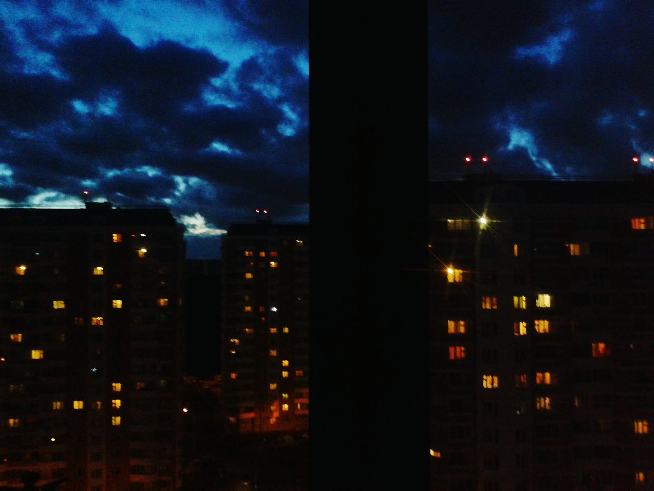 Night Sky Moscow