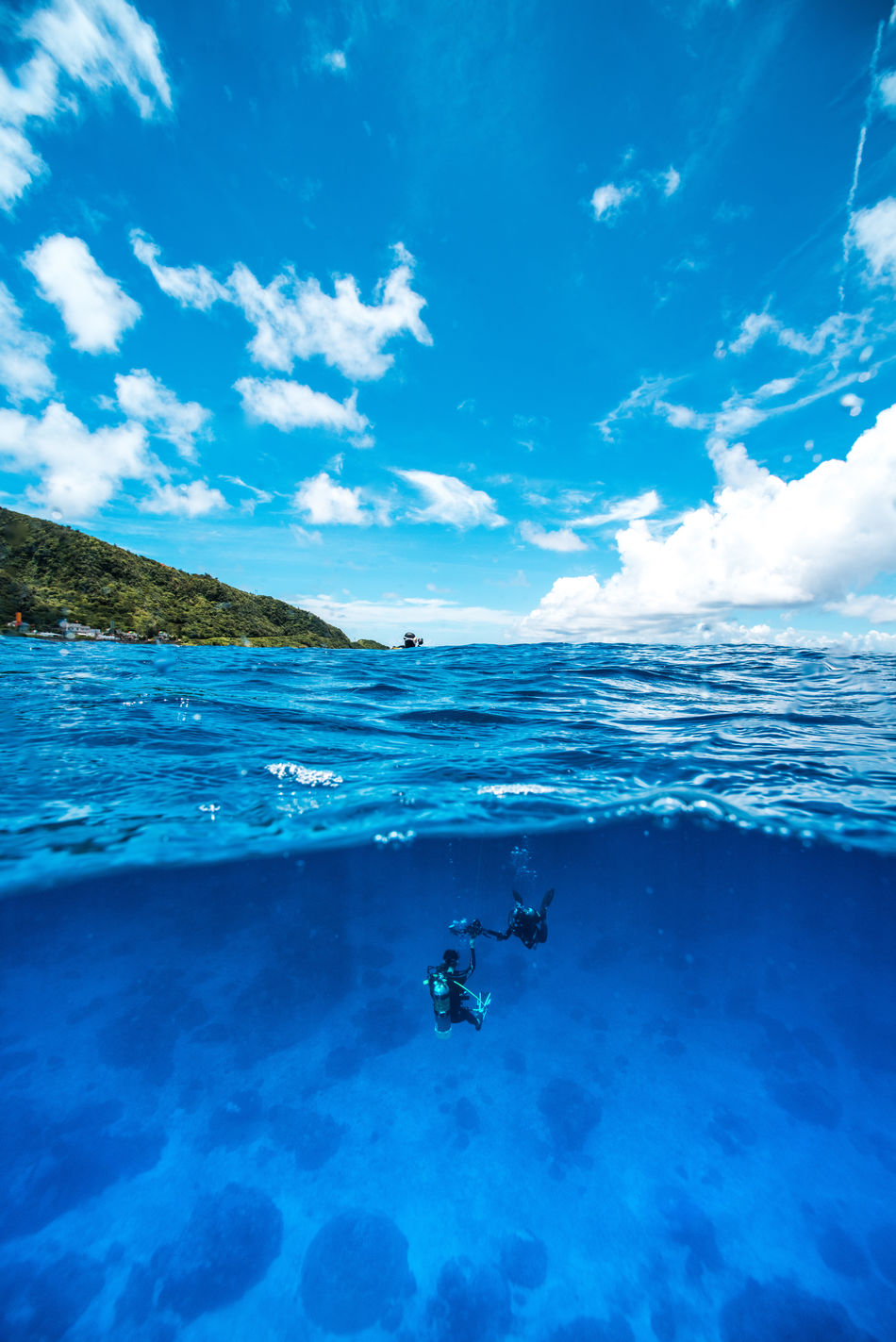 Beautiful stock photos of schwimmen,  Beach,  Beauty In Nature,  Blue,  Cloud - Sky