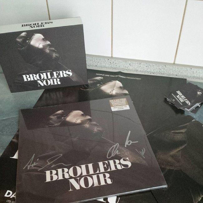 Broilers Limitiert Noir Cd vinyl