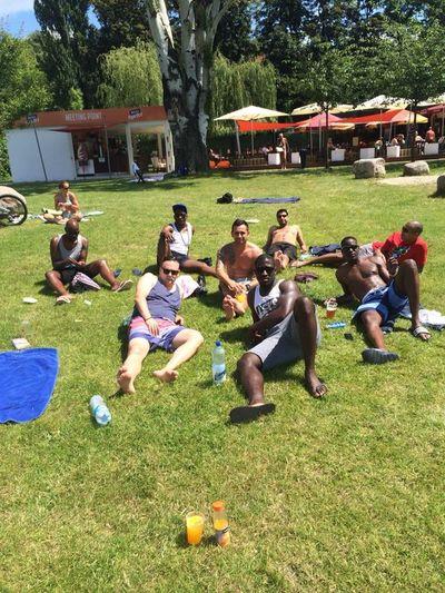 Relaxing in the park Praguelife Heatwave BIFC Throwbackthursday