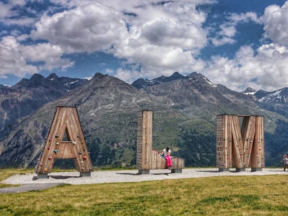 ALM. Werner Neururer Photographer Mountains Mountain View Oetztal Soelden Tyrol Alp Alps Clouds And Sky