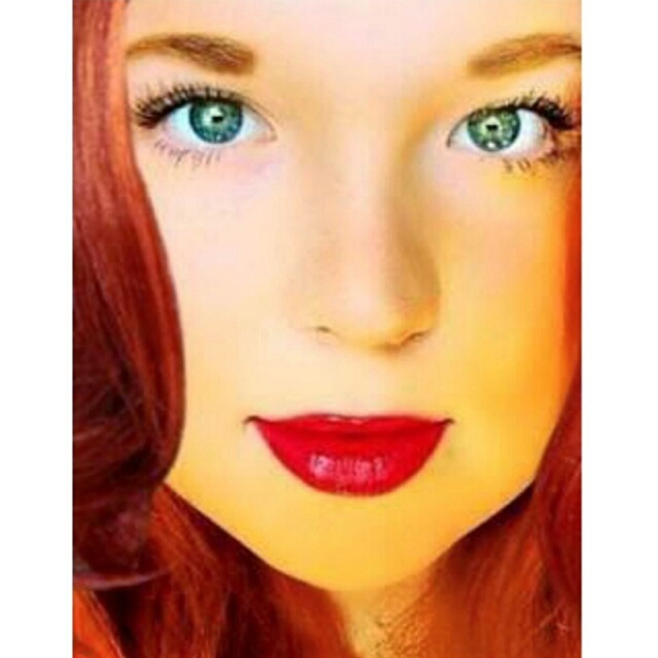 Selfie ✌ Redhead Beautiful Girl Love ♥ Green Eyes RedHAIR ❤ Redhairdon'tcare Emeraldgreen Today's Hot Look