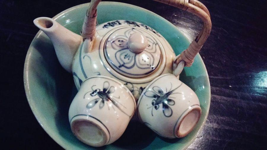 Chuồn chuồn điểm thủy có đôi ;-) lâu lâu rồi mới lại trà sáng ở quán.