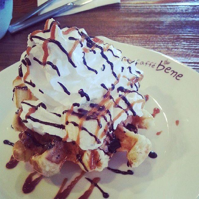 Waffle Caffebene