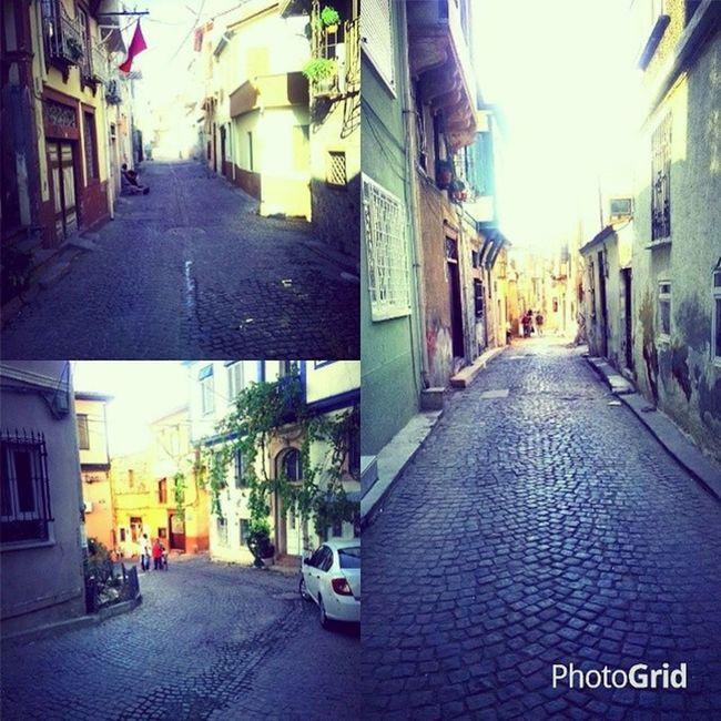 Daracık Daracık Sokaklar Ayvalık aşk burayı çok Seviyorum.Çocukluğumun sokakları