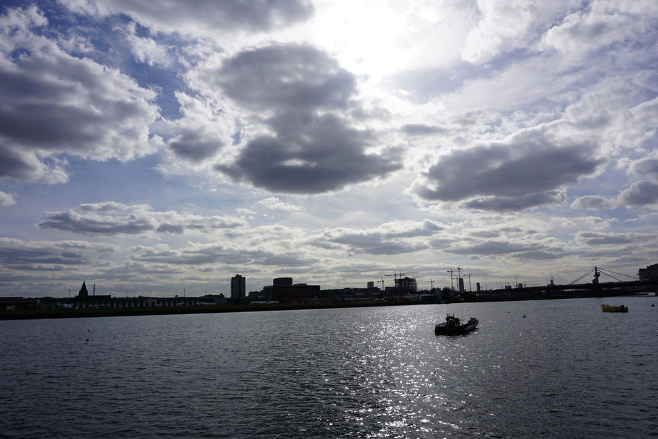 Atmosphere Beautiful Day Beckton Boat City Cloud Cloudscape Cloudy Dramatic Sky London City Airport Outdoors Sky Sunset
