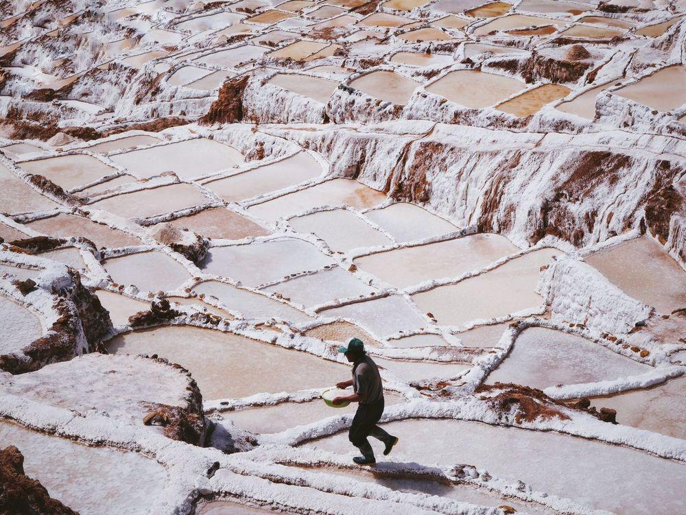 Working the Salt Pools  Peru Latin America Travel Travel Photography Vscocam Snapshots Of Life The Week On EyeEm Showcase: January