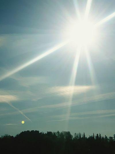 Sunbeam Sun Tree Sunlight Outdoors No People Day Beauty In Nature Sky Nature Albania